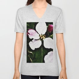 She Lights Up The Night In The Apple Orchard Unisex V-Neck