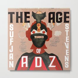 The Age of Adz Metal Print