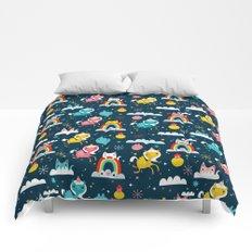 Space Unicorn Comforters