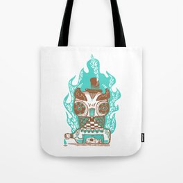 Good to the Last Drop - Chocqua Owl Tote Bag