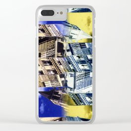 SAINT GERMAIN COLLAGE Clear iPhone Case