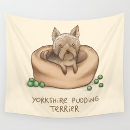 Yorkshire Pudding Terrier Wall Tapestry