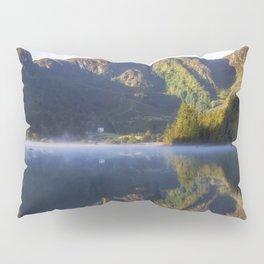 Misty Dawn Lake Pillow Sham