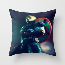"""""""For Truth and Justice!"""" Throw Pillow"""