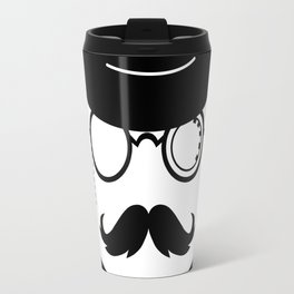 Hipster warrior Guns Travel Mug