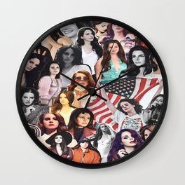 LDR Collage Wall Clock