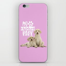My Children Bark iPhone Skin