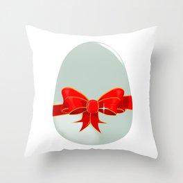 Chocolate Egg Throw Pillow