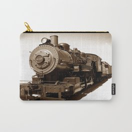Train Riding The 410 photography Carry-All Pouch