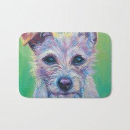 Rainbow Pup Bath Mat