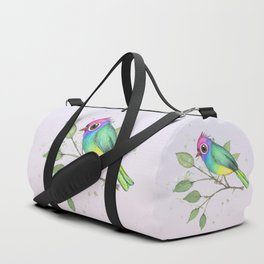 Rainbow bird Duffle Bag