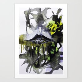Lips II Art Print