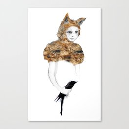Bird in the Hand Canvas Print