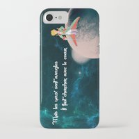 le petit prince iPhone & iPod Cases featuring Le Petit Prince by SmallWheel