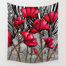 Ruby Rose Pop Wall Tapestry