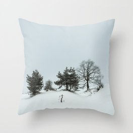 Frozen Family Throw Pillow