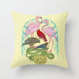 Wild Anatomy II Throw Pillow