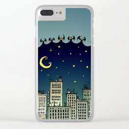 The Nightbringers Clear iPhone Case