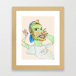 JETSON BOY Framed Art Print