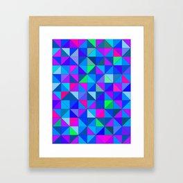 Blue 2 Framed Art Print