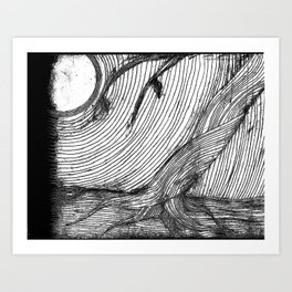 disappearance Art Print