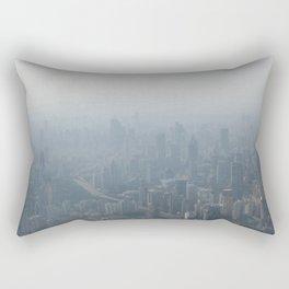fade to gray (Shanghai) Rectangular Pillow
