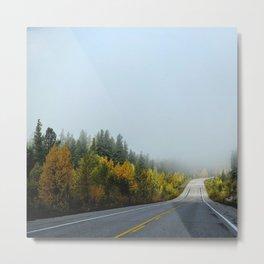 Morning drive Metal Print
