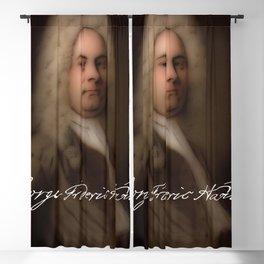 George Frideric (or Frederick) Handel (born Georg Friedrich Händel) by Balthasar Denner (c.1726–172 Blackout Curtain