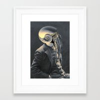 marine Framed Art Prints featuring MARINE by Julia Lillard Art