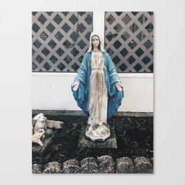 Eerie Mary Canvas Print