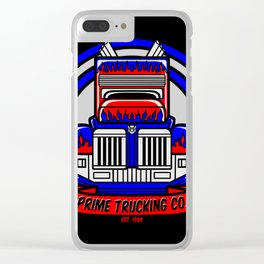Prime Trucking Co. Clear iPhone Case