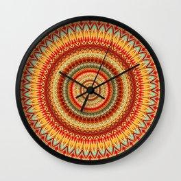Mandala 321 Wall Clock