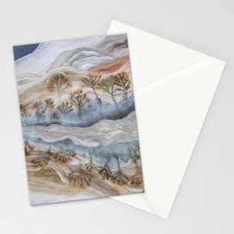 Dendrite Agate Stationery Cards