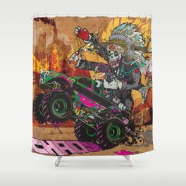 Wolves & Scandals Shower Curtain