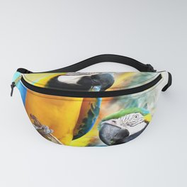 Macaw friends Fanny Pack