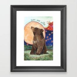 Sniff the Air Framed Art Print