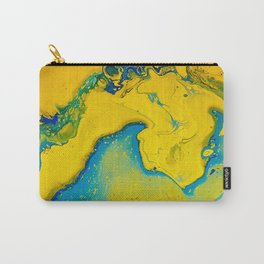 Return to paradise, acrylic on canvas Carry-All Pouch