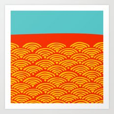 Miko 5 Art Print