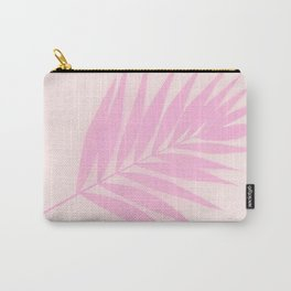 Pink Palm Leaf #decor #society6 Carry-All Pouch