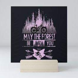Forest Ride Mini Art Print