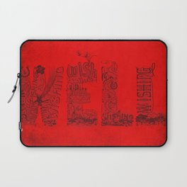 Wishing Well  Laptop Sleeve