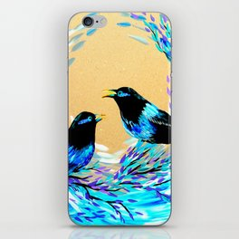 Bower Birds iPhone Skin