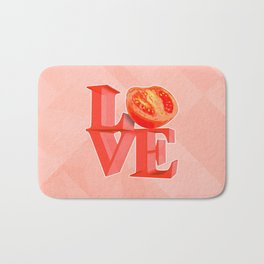 I LOVE TOMATO !!! Bath Mat