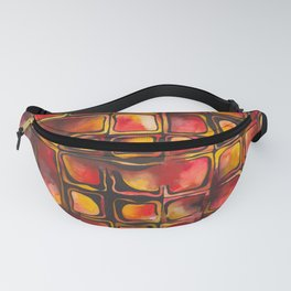 Red Blood Cells in Flow Fanny Pack