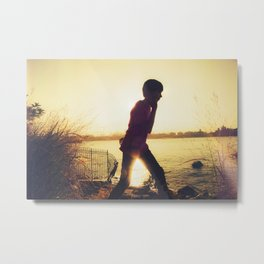When You Were Young Metal Print
