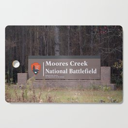 Moores Creek National Battlefield Cutting Board