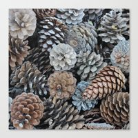 plant Canvas Prints featuring plant by kartalpaf