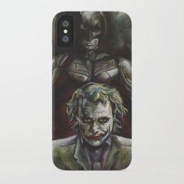 BAT MAN and JOKER iPhone Case