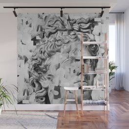 Apollo. Abstract typography Wall Mural