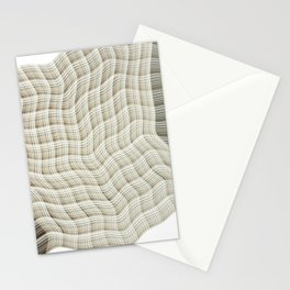 Wicker waves Stationery Cards